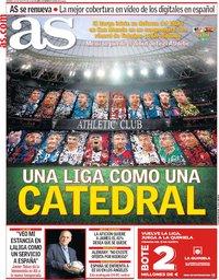 capa Jornal As de 16 agosto 2019