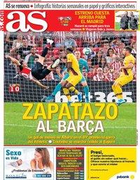 capa Jornal As de 17 agosto 2019