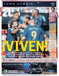 capa Jornal As de 18 agosto 2019