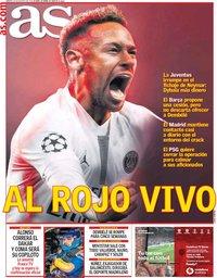 capa Jornal As de 20 agosto 2019