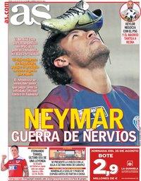 capa Jornal As de 23 agosto 2019