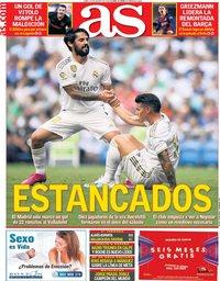 capa Jornal As de 26 agosto 2019