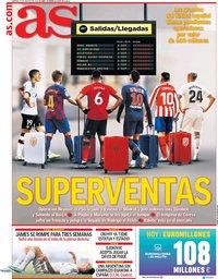 capa Jornal As de 27 agosto 2019