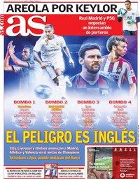 capa Jornal As de 29 agosto 2019