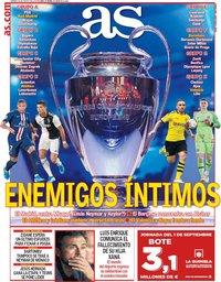 capa Jornal As de 30 agosto 2019