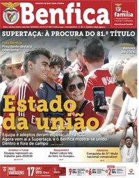 capa Jornal Benfica de 2 agosto 2019