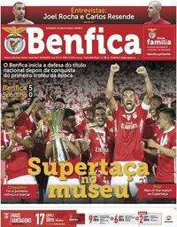 capa Jornal Benfica de 9 agosto 2019