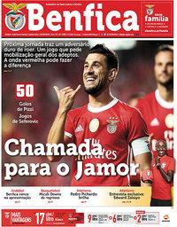 capa Jornal Benfica de 30 agosto 2019