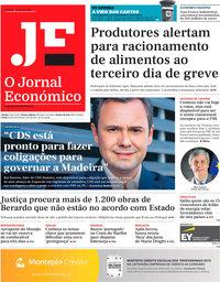capa Jornal Económico de 2 agosto 2019