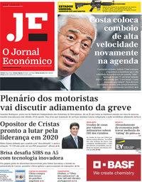 capa Jornal Económico de 9 agosto 2019