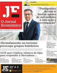 capa Jornal Económico de 23 agosto 2019