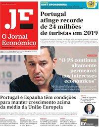 capa Jornal Económico de 30 agosto 2019