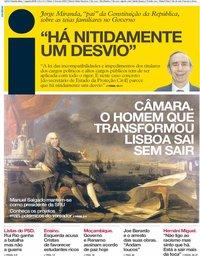 capa Jornal i de 1 agosto 2019