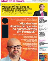 capa Jornal i de 2 agosto 2019
