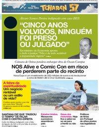 capa Jornal i de 5 agosto 2019