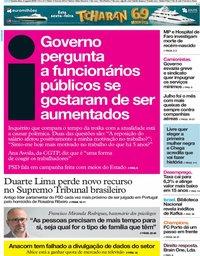 capa Jornal i de 8 agosto 2019
