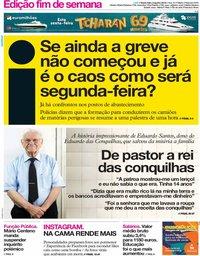 capa Jornal i de 9 agosto 2019