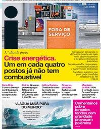 capa Jornal i de 12 agosto 2019