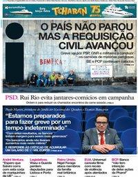 capa Jornal i de 13 agosto 2019