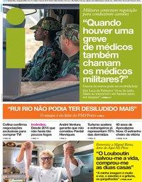 capa Jornal i de 15 agosto 2019