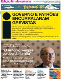 capa Jornal i de 16 agosto 2019