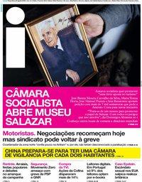capa Jornal i de 20 agosto 2019