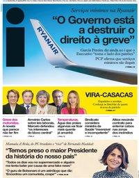 capa Jornal i de 21 agosto 2019