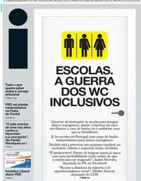 capa Jornal i de 22 agosto 2019
