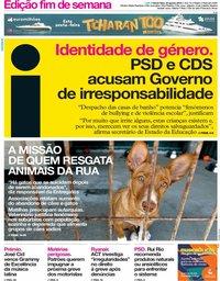capa Jornal i de 23 agosto 2019