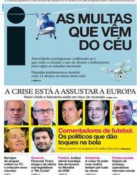 capa Jornal i de 27 agosto 2019