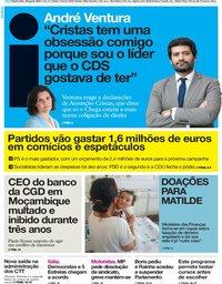 capa Jornal i de 29 agosto 2019
