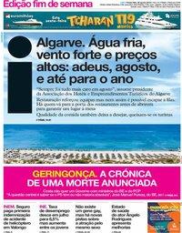 capa Jornal i de 30 agosto 2019