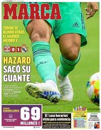 capa Jornal Marca de 8 agosto 2019
