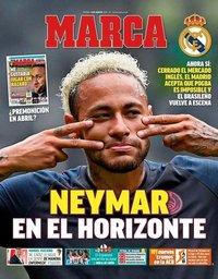 capa Jornal Marca de 9 agosto 2019