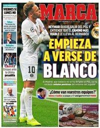 capa Jornal Marca de 10 agosto 2019