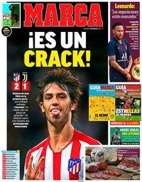 capa Jornal Marca de 11 agosto 2019