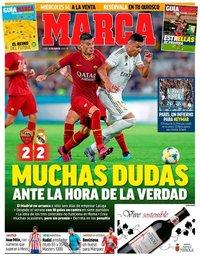 capa Jornal Marca de 12 agosto 2019