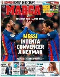 capa Jornal Marca de 13 agosto 2019