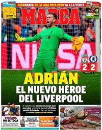 capa Jornal Marca de 15 agosto 2019