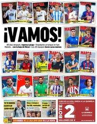 capa Jornal Marca de 16 agosto 2019