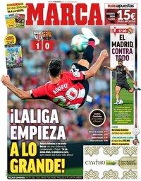 capa Jornal Marca de 17 agosto 2019