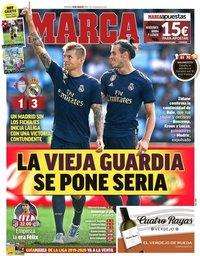 capa Jornal Marca de 18 agosto 2019