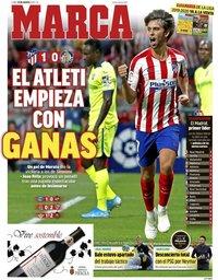 capa Jornal Marca de 19 agosto 2019