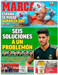 capa Jornal Marca de 20 agosto 2019