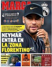 capa Jornal Marca de 21 agosto 2019