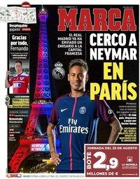 capa Jornal Marca de 23 agosto 2019