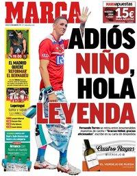 capa Jornal Marca de 24 agosto 2019