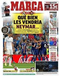 capa Jornal Marca de 25 agosto 2019