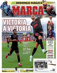 capa Jornal Marca de 26 agosto 2019