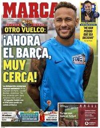 capa Jornal Marca de 28 agosto 2019